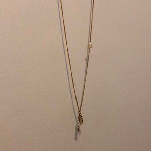 J.Crew studded pendant necklace